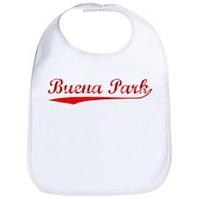 Vintage Buena Park (Red) Bib