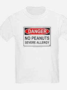 No Peanuts-Severe Allergy T-Shirt