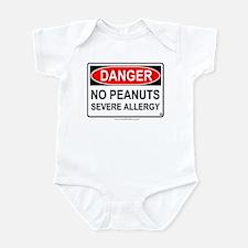 No Peanuts-Severe Allergy Infant Bodysuit