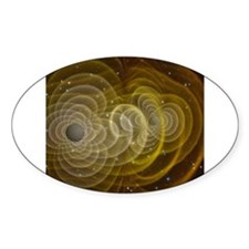 Space 1 Oval Decal