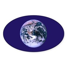 Space 2 Oval Decal