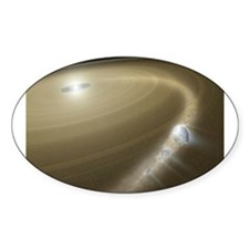 Space 3 Oval Decal