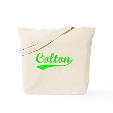 Vintage Colton (Green) Tote Bag