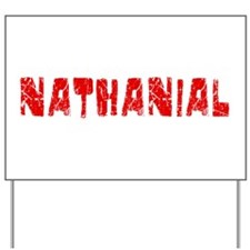 Nathanial Faded (Red) Yard Sign