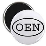 OEN Oval Magnet