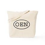 OEN Oval Tote Bag