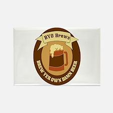 Brew Yer Own Damn Beer! Rectangle Magnet
