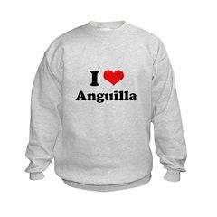 I love Anguilla Sweatshirt