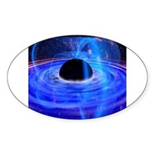Space 6 Oval Decal