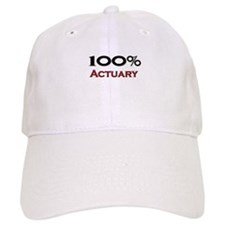 100 Percent Actuary Baseball Cap
