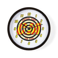 CIA Bullseye number Wall Clock