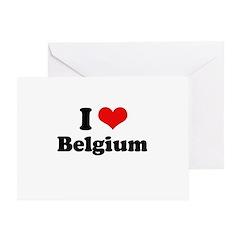 I love Belgium Greeting Card