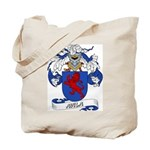 Avila Family Crest Tote Bag