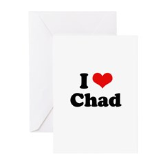 I love Chad Greeting Cards (Pk of 20)