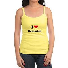 I love Colombia Jr.Spaghetti Strap