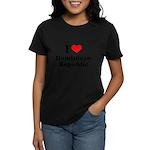 I love Dominican Republic Women's Dark T-Shirt