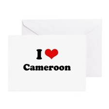 I love Cameroon Greeting Cards (Pk of 10)