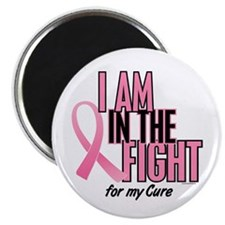 "I AM IN THE FIGHT (My Cure) 2.25"" Magnet (100 pack"