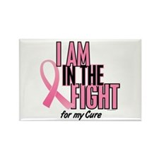 I AM IN THE FIGHT (My Cure) Rectangle Magnet (10 p
