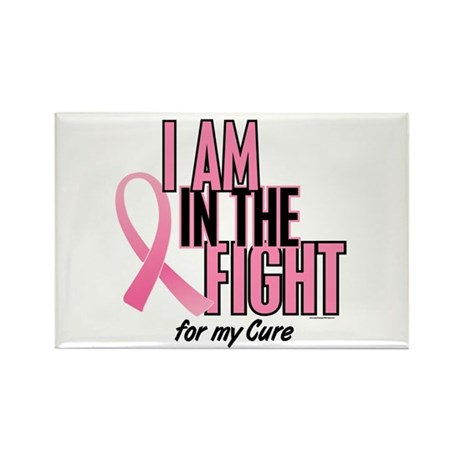 I AM IN THE FIGHT (My Cure) Rectangle Magnet (100