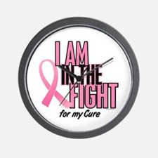 I AM IN THE FIGHT (My Cure) Wall Clock