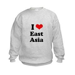I love East Asia Sweatshirt