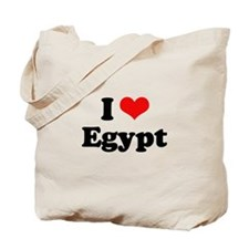 I love Egypt Tote Bag