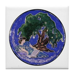 Dreamy Afternoon Tile Coaster