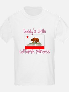 Daddy's little California Princess T-Shirt