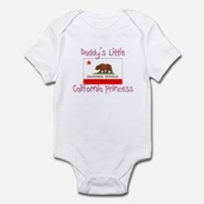 Daddy's little California Princess Infant Bodysuit