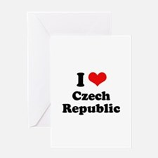 I love Czech Republic Greeting Card