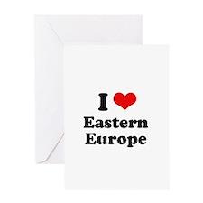 I love Eastern Europe Greeting Card