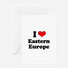 I love Eastern Europe Greeting Card