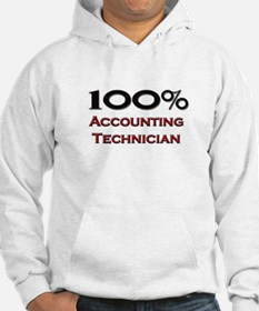 100 Percent Accounting Technician Hoodie