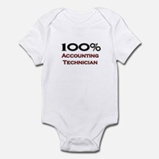 100 Percent Accounting Technician Infant Bodysuit