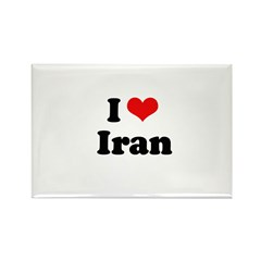 I love Iran Rectangle Magnet (100 pack)