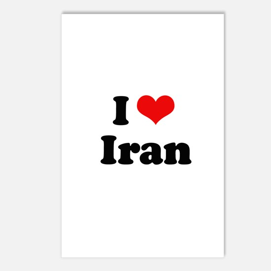 I love Iran Postcards (Package of 8)