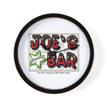 Joes Bar Wall Clock $2