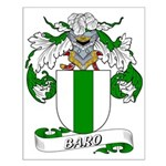 Baro Family Crest Small Poster