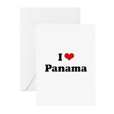 I love Panama Greeting Cards (Pk of 20)