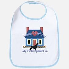 Field Spaniel Home Is Bib