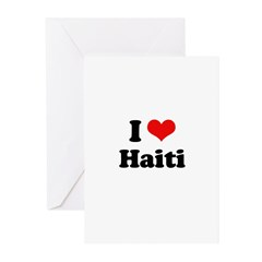 I love Haiti Greeting Cards (Pk of 10)