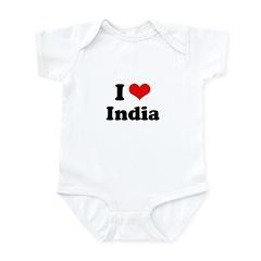 I love India Infant Bodysuit