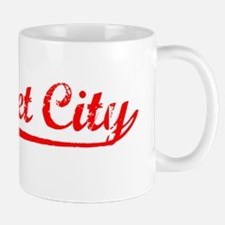 Vintage Calumet City (Red) Mug