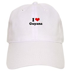 I love Ghana Baseball Cap