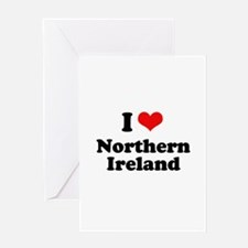 I love Northern Ireland Greeting Card