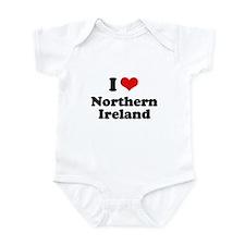 I love Northern Ireland Onesie