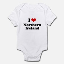 I love Northern Ireland Onesie