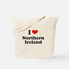 I love Northern Ireland Tote Bag