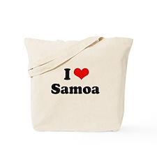 I love Samoa Tote Bag